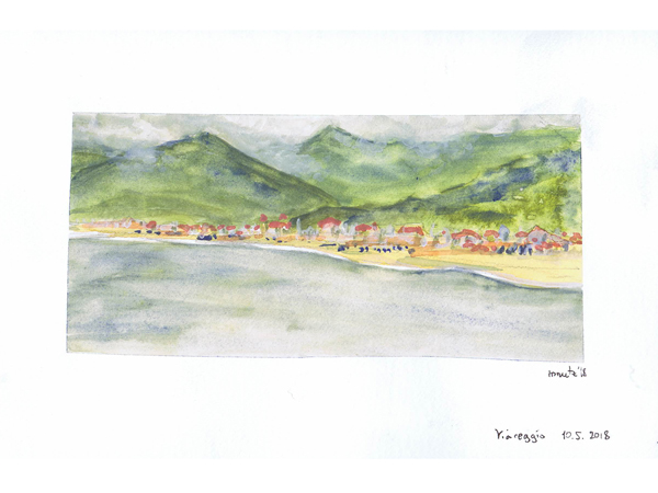 Reiseskizzen Viareggio mnutzDesign