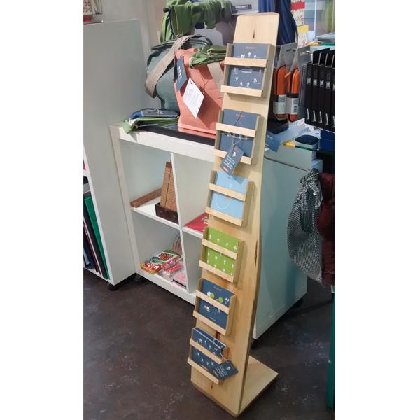 cucuDesign Holz-Aufsteller Karten