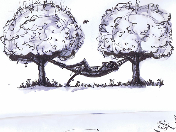 Tanka Zeichnung