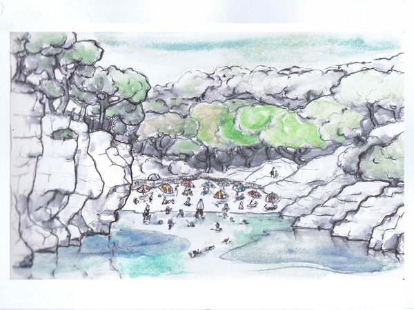 Reiseskizzen Menorca mnutzDesign